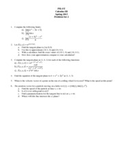 Problem Set 02 calc III spring 13 students