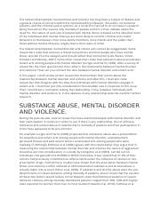 mental illness and violence.docx