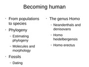 Exam 2 FA14 Becoming human UPDATED