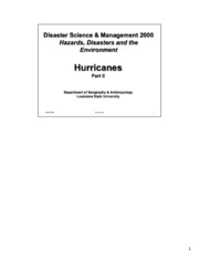 Hurricanes_II_Notes