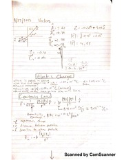 Notes on Vectors, Electric Charge, and Super Position