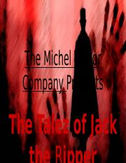 The Talez of Jack the Ripper.pptx