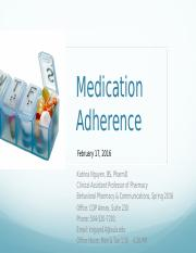 2-Medication Adherence Lecture (2) (3).pptx