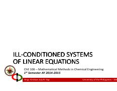 Lecture 07A - Ill-Conditioned Equations.pdf