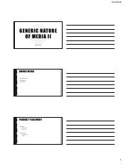 #4_Generic Nature of Media II- student.pdf.pdf