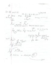Reactions and Mechanisms  Ch 18 and 21