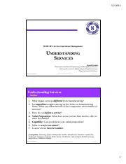 Understanding Services_Answers_Posted