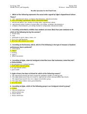 Possible Questions for Final exam Inequality Spring 2016 GIVE.doc