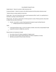 Accounting201 chapter 8 notes