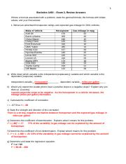 Review for Exam 3 Answers 3202015.docx