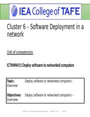 Lesson 1. Deploying software to networked computers.ppt