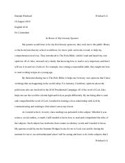 discourse community essay hannah pritchard pritchard english 2 pages literary sponsor