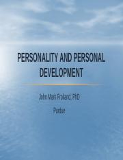 Personality and Personal Development.pptx