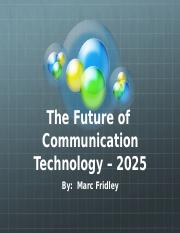 Communication Technology in 2025_ORIGINAL
