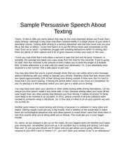 Persuasive speech on nursing