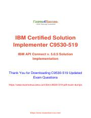 IBM C9530-519 Exam Dumps Study Guide.pdf