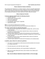 PA-571 - Week-2 Mission_Statement_Analysis_Guidelines