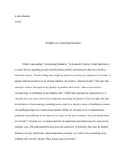 socl social problems northeastern page course hero 4 pages constructing normalcy