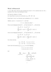 Homework 14 Solution Spring 2013 on Advanced Multivariable Calculus
