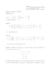 Math 125 Spring06 Exam2 Solutions