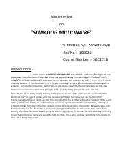 Research Papers Examples Essays Sociological Perspective I Think The Movie Slumdog Millionaire Represents My Mother Essay In English also Essay On High School Sociological Perspective I Think The Movie Slumdog Millionaire  Science Essay Ideas