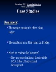 case studies on arise Case study research case studies are widely used in organizational studies and across the social sciences, and there is some suggestion that the case study.