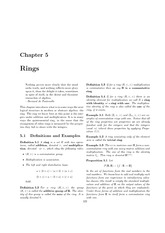 Chapter 5- Rings (MAT3130)