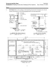 MAE 209 HW 4 - Reading Construction Drawings and Floor Systems Fa 2016