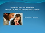 6Data management through TPS, ERP - no WSJ
