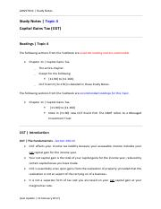 7012_Study Notes_Topic 4_LU13022017