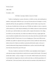 E.B WHITE AND ZEV CHAFETS ESSAY.docx