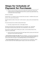 Steps for Schedule of Payment for Purchases.docx