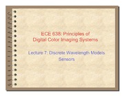 07. Discrete wavelength models sensors - 2011