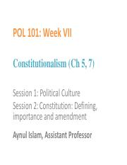 POL_101_Week 7_Political culture and Constitutionalism.pdf