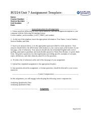 BU224 Unit 7AssignmentTemplate.docx