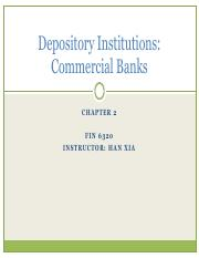2-Commercial Banks