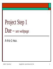 Lect 3 - Project Step 1.ppt