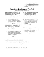 Practice Problems 7.4-7.6 answers.docx