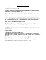 PSY 110 - Mythbusters Assignment (1).docx