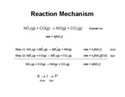 Lecture 6 - Chemical Kinetics