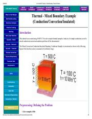 U of A ANSYS Tutorials - Mixed Boundary Thermal Problem.pdf