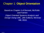 Chapter 1 OO Concepts [upd]