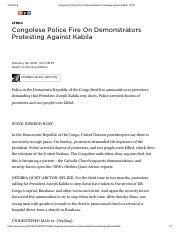 Congolese Police Fire On Demonstrators Protesting Against Kabila _ NPR 2-26-2018.pdf