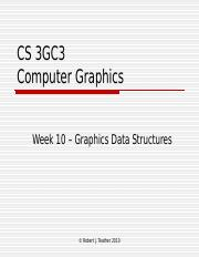 week10 datastructures in graphics