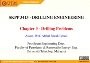 Ch 3 Drilling problems
