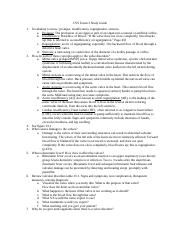 CVS Exam 3 Study Guide.docx