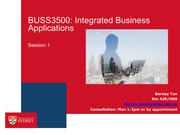 BUSS3500 Session 1