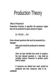 Production Theory.ppt