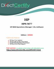 HP0-M77 Questions and Answers.pdf