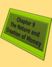 fwk-rittenmacro-ppt-ch09-nature-and-creation-money